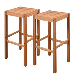 Amazonia Westerdam Patio Barstools (Set of 2)