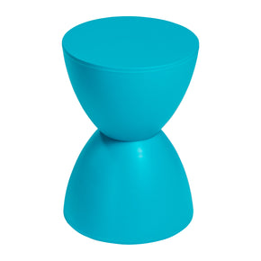 Sallie Stool in Teal