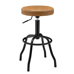 New Pacific Direct 9300042-309 Eaton Gaslift Bar Stool Vintage Cedar Brown
