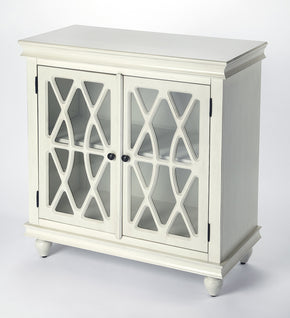 Butler Furniture 9398288 Lansing Off White Accent Cabinet 797379044598