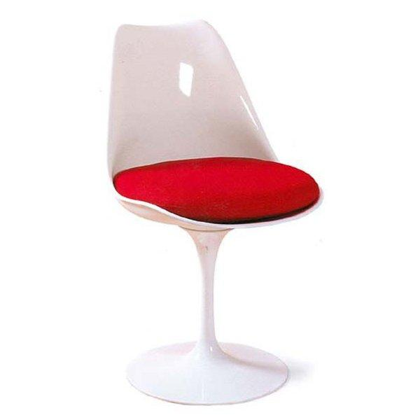 Flower Side Chair, White