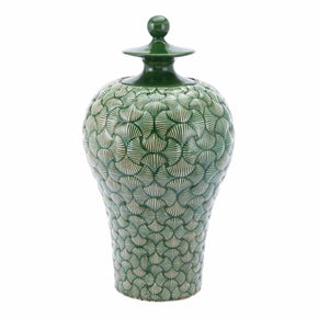 Zuo Modern A11424 Ventra Large Temple Jar Green