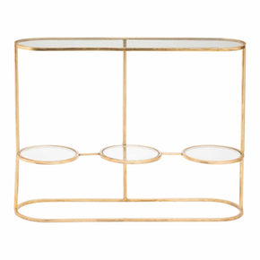 Aron Console Table Gold