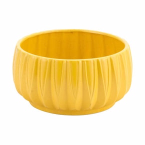 Zuo Modern A11609 Acacia Bowl Yellow