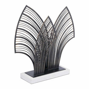Zuo Modern A11797 Arco Sculpture Black
