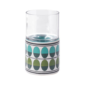 Zuo Modern A11831 Retro Small Candle Holder Green & Teal
