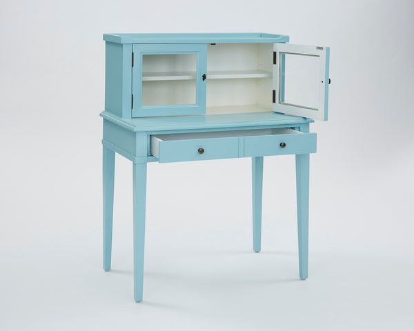Chloe Transitional Secretarydesk Tiffany Blue/Creamy White
