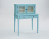 Progressive Furniture A422-71 Chloe Transitional Secretarydesk Tiffany Blue/Creamy White
