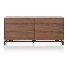 Star International Furniture 4646.WAL Andes Double Dresser Walnut, Black
