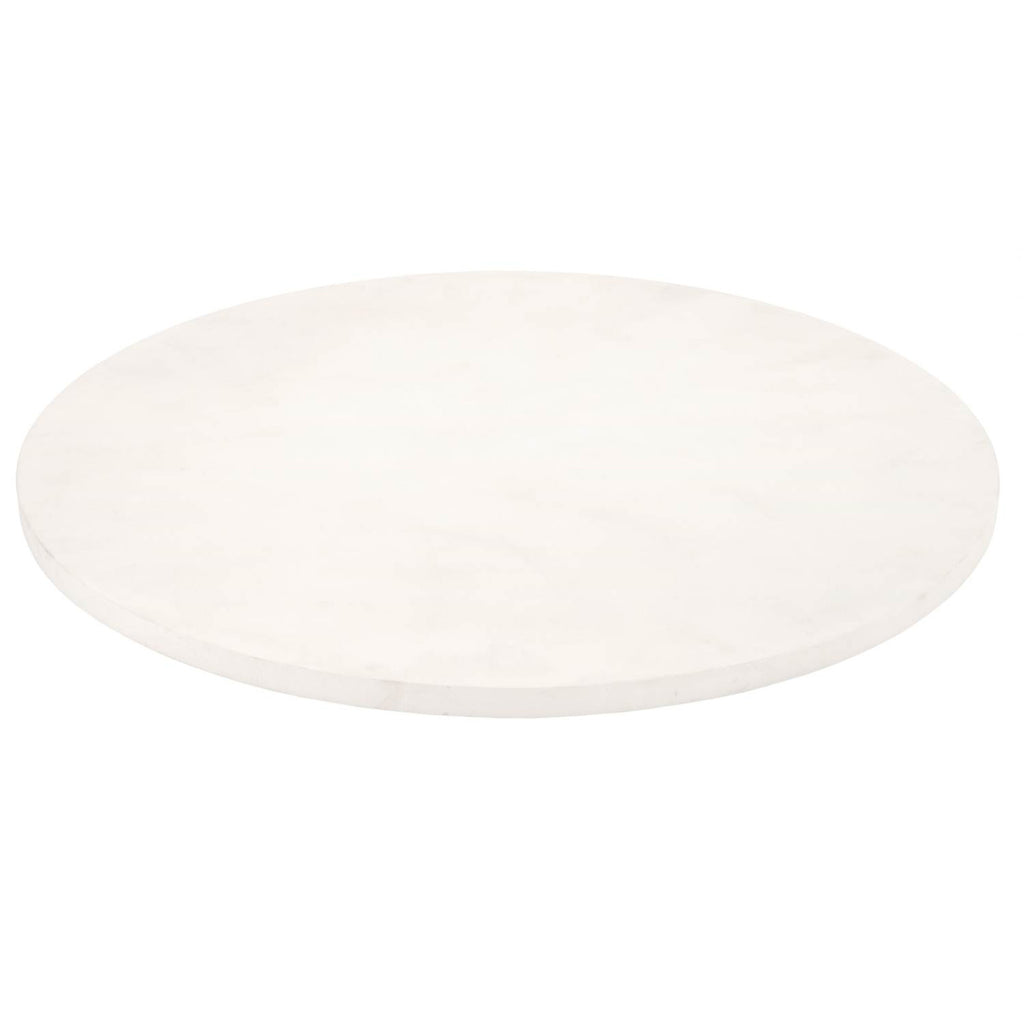 "Orient Express Furniture 8042.WCON/TOP Annex 54"" Round Dining Table Top White Concrete 