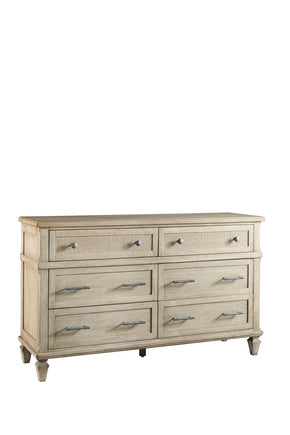 Progressive Furniture B131-23 Coronado Transitional Drawer Dresser Flax