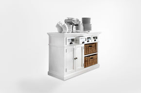 Sideboards - Nova Solo B131 Halifax French Countryside Kitchen Buffet White Semi-gloss | 8994921000053 | Only $749.00. Buy today at http://www.contemporaryfurniturewarehouse.com
