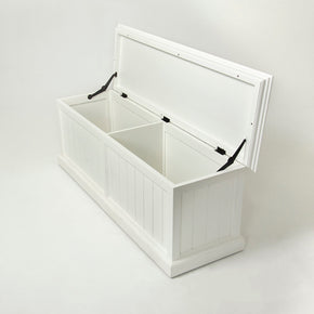 Benches - Nova Solo BB002 Halifax French Countryside Storage Chest White Semi-gloss | 8994921000114 | Only $599.00. Buy today at http://www.contemporaryfurniturewarehouse.com