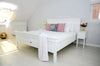 Halifax French Countryside Bed King-Size White Semi-gloss