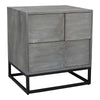 Felix Contemporary Modern Nightstand Grey