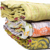 Kantha Quilts Assorted Set Of Three