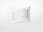 Halifax Landscape Mirror White semi-gloss