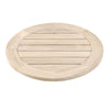 Boca Outdoor Lazy Susan Gray Teak
