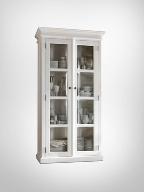 Halifax French Countryside Double Vitrine White Semi-gloss