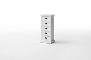 Halifax French Countryside Storage Unit with Drawers White Semi-gloss