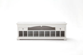 Entertainment Stands - Nova Solo CA611 Provence Media Console White semi-gloss | 8994921001449 | Only $589.00. Buy today at http://www.contemporaryfurniturewarehouse.com