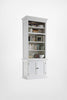 Halifax French Countryside Single - Bay Hutch Unit White Semi-gloss