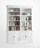 Halifax French Countryside Double - Bay hutch Unit White Semi-gloss