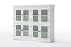 Halifax French Countryside Pantry 8 Doors White Semi-gloss