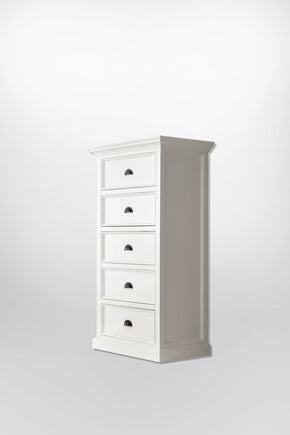 Halifax French Countryside Chest of Drawers White Semi-gloss