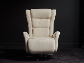 Gertrud High-Grain Leather Recliner