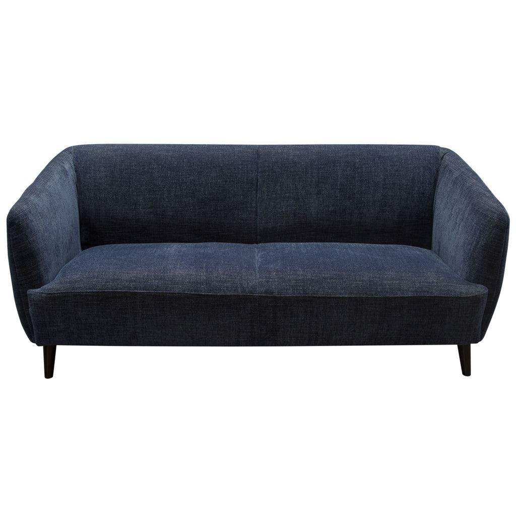 Diamond Sofa DELUCASOBU DeLuca Midnight Blue Fabric Sofa ...