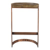 Bancroft Copper Bar Stool Grey