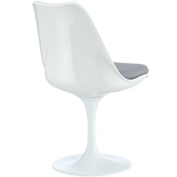 Eero Saarinen Style Tulip Dining Side Chair White | Modern Dining Chair by Modway at Contemporary Modern Furniture  Warehouse - 10