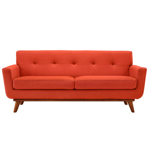 Loveseats - Modway EEI-1179-ATO Engage Mid Century Modern Upholstered Loveseat | 848387033200 | Only $767.00. Buy today at http://www.contemporaryfurniturewarehouse.com