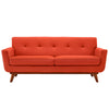 Loveseats - Modway EEI-1179-ATO Engage Mid Century Modern Fabric Loveseat | 848387033200 | Only $721.05. Buy today at http://www.contemporaryfurniturewarehouse.com