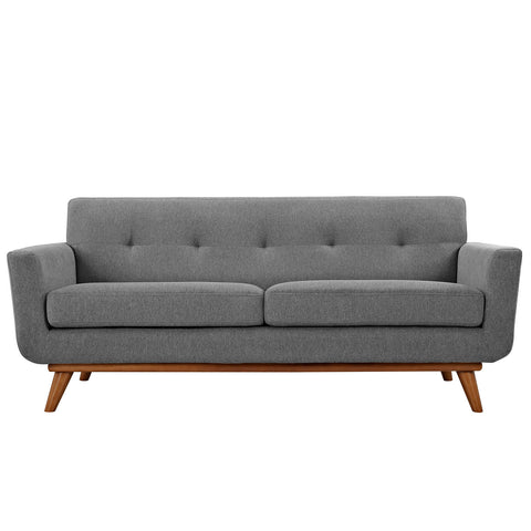 Engage Loveseat - Expectaion Gray | Modern Loveseat by Modway at Contemporary Modern Furniture  Warehouse - 1