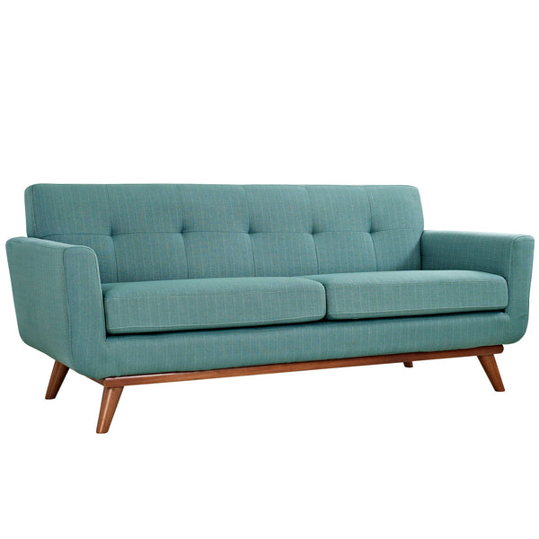 Loveseats - Modway EEI-1179-LAG Engage Mid Century Modern Upholstered Loveseat | 848387039080 | Only $767.00. Buy today at http://www.contemporaryfurniturewarehouse.com