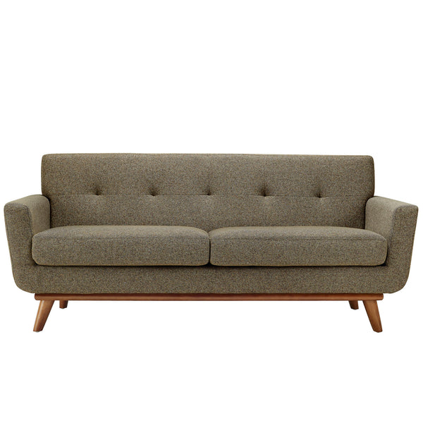 Loveseats - Modway EEI-1179-OAT Engage Mid Century Modern Upholstered Loveseat | 848387033217 | Only $767.00. Buy today at http://www.contemporaryfurniturewarehouse.com