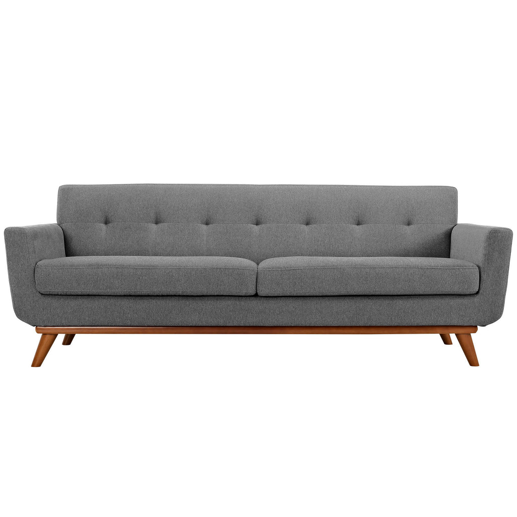 affordable modern furniture decor  lighting online free  - engage sofa  expectation gray  modern sofa by modway at contemporarymodern furniture warehouse