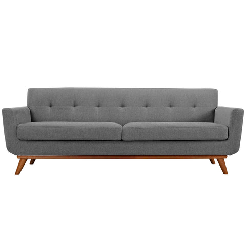Engage Sofa - Expectation Gray | Modern sofa by Modway at Contemporary Modern Furniture  Warehouse - 1