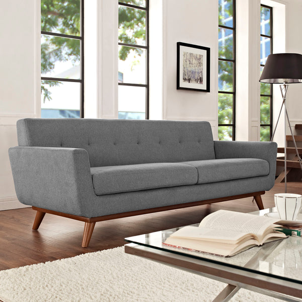 Engage Sofa - Expectation Gray | Modern sofa by Modway at Contemporary Modern Furniture  Warehouse - 4