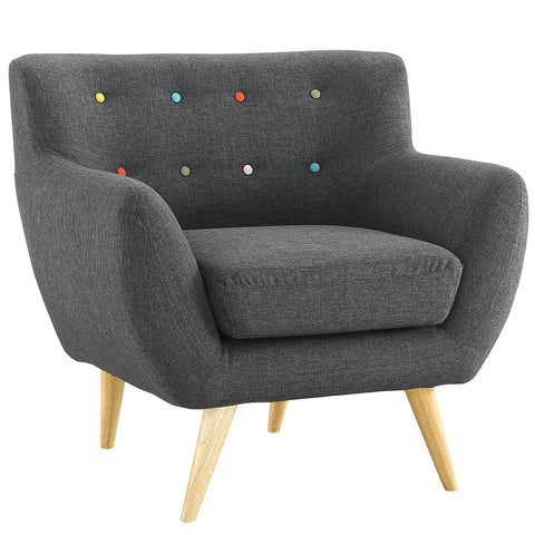 Buy Modway Remark Armchair in Gray EEI-1631-GRY online. Best price. Free Shipping on all orders over $49.