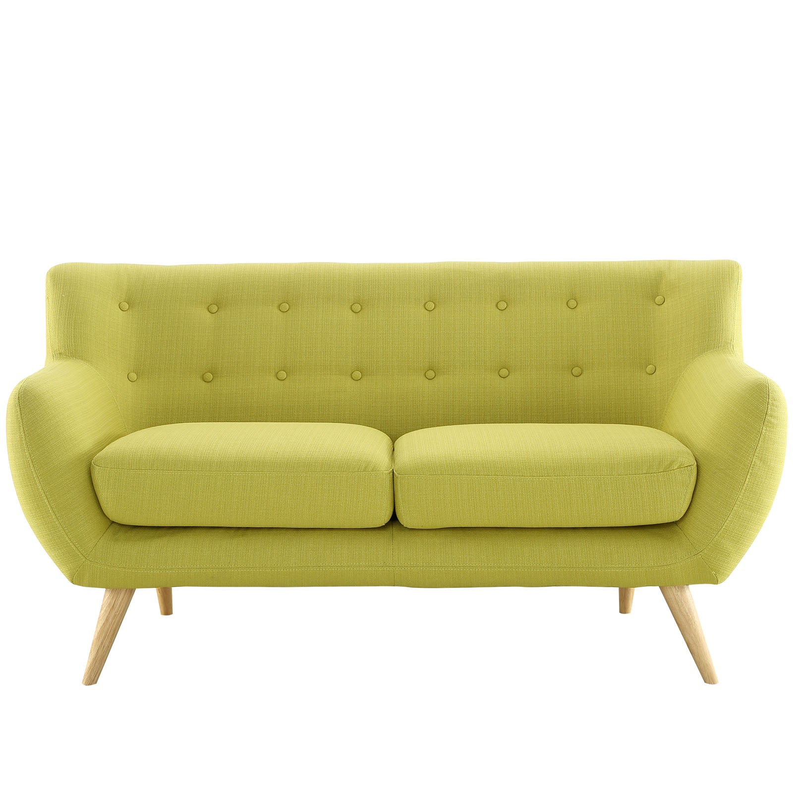 Modway Loveseats On Sale Eei 1632 Azu Remark Mid Century Modern Upholstered Loveseat Only Only 596 05 At Contemporary Furniture Warehouse