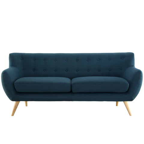 Remark Sofa in Azure | Modern Sofa by Modway at Contemporary Modern Furniture  Warehouse - 1