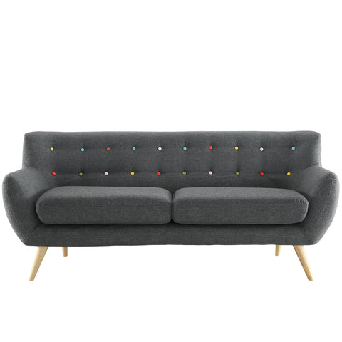 Buy Modway Remark Sofa in Gray EEI-1633-GRY online. Best price. Free Shipping on all orders over $49.