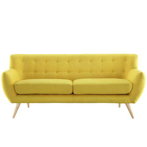 Remark Sofa in Sunny | Modern Sofa by Modway at Contemporary Modern Furniture  Warehouse - 1