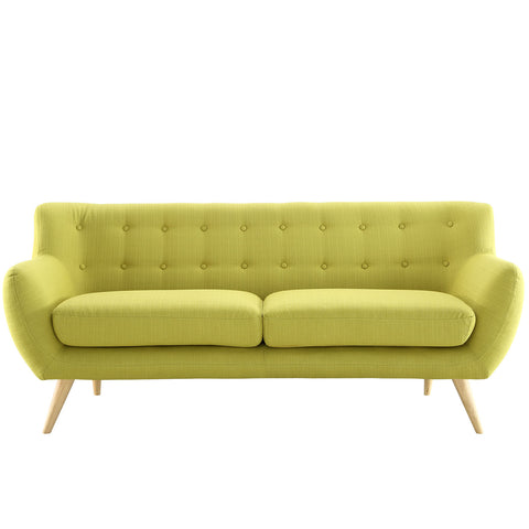 Remark Sofa in Wheatgrass | Modern Sofa by Modway at Contemporary Modern Furniture  Warehouse - 1