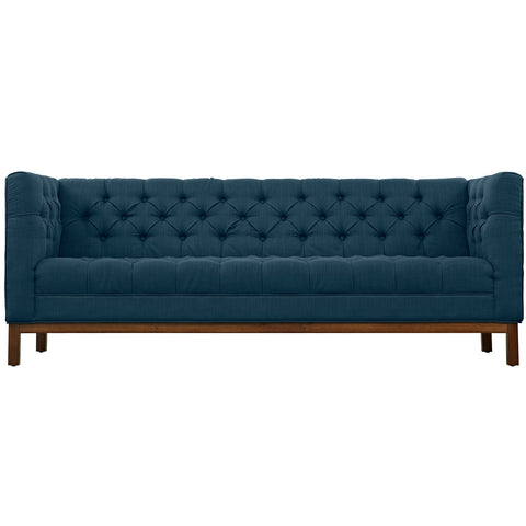 Panache Fabric Sofa Azure | Modern Sofa by Modway at Contemporary Modern Furniture  Warehouse - 1