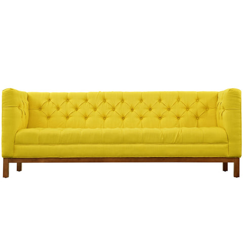 Panache Fabric Sofa Sunny | Modern Sofa by Modway at Contemporary Modern Furniture  Warehouse - 1