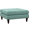 Ottomans - Modway Empress Upholstered Large Ottoman | EEI-2139-LAG | 889654040880| $210.50. Buy it today at www.contemporaryfurniturewarehouse.com